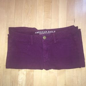 American Outfitters Maroon Jeggings